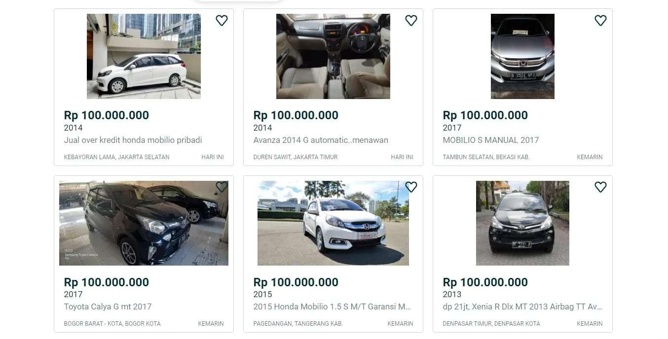 Daftar Mobil Mpv Bekas Di Atas Tahun 2010 Harganya Rp 100 Jutaan