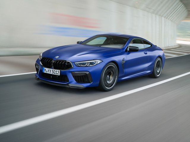 BMW M8 Coupe 2020