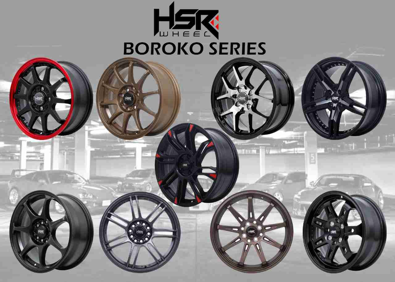 HSR Wheel Boroko Series